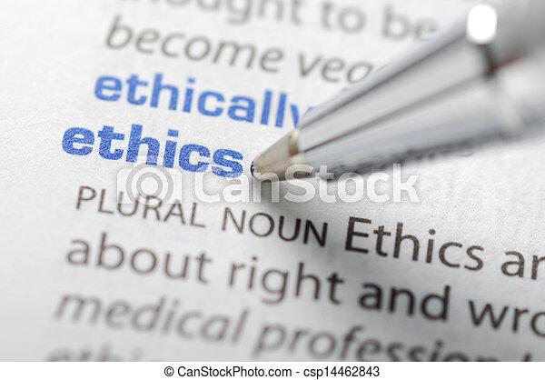 serie, etica, -, dizionario - csp14462843