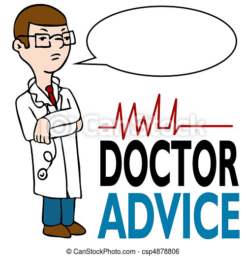 serious doctor giving advice an image of a doctor with his clip rh canstockphoto com black and white clipart of a thanksgiving giving clipart black and white