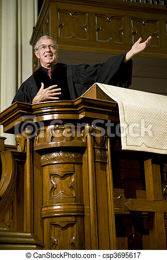 Sermon - csp3695617