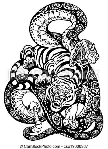 Dessin Tatouage Serpent dessin serpent pour tatouage | kolorisse developpement