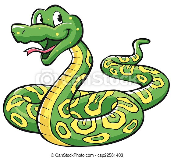 Dibujos de serpiente - csp22581403