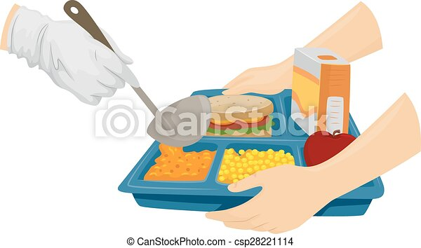 serve cafeteria food cropped illustration of a cafeteria vector rh canstockphoto com cafeteria clipart black and white cafeteria images clipart