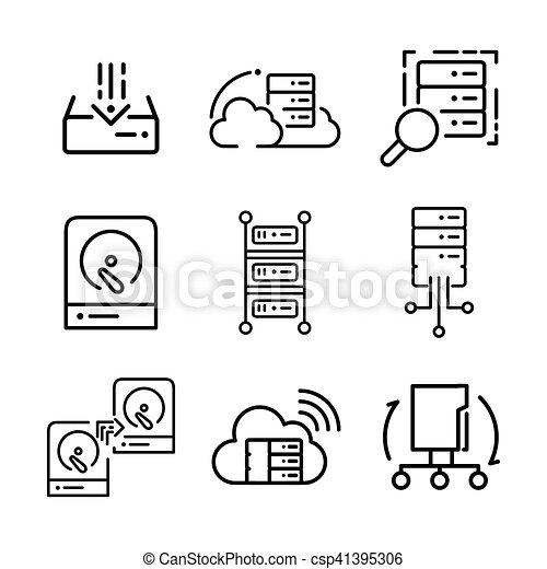 Server Diagram Icon
