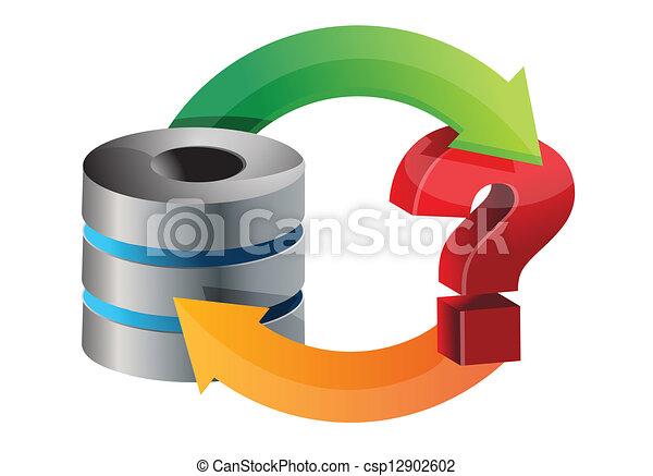 Server issues circle diagram illustration design over a vector server issues circle diagram vector ccuart Choice Image