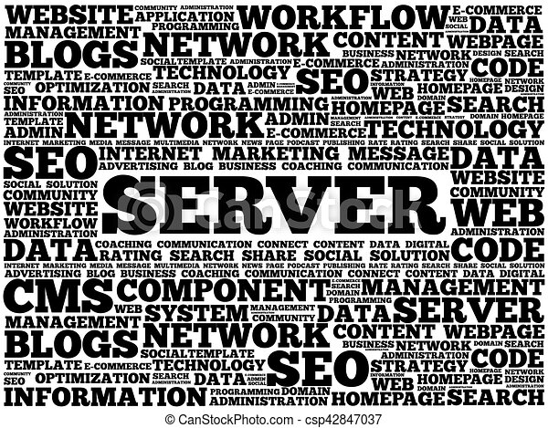 Server word cloud - csp42847037