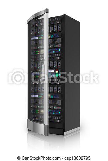 serveur, réseau - csp13602795