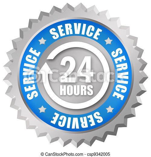 Service 24 hours token - csp9342005