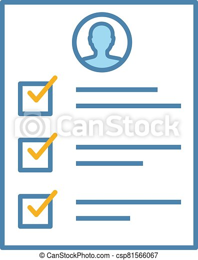 Service quality control survey color icon - csp81566067