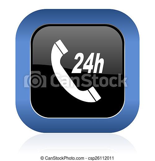 service square glossy icon - csp26112011