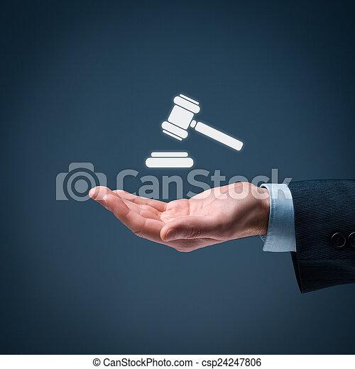 services, droit & loi - csp24247806