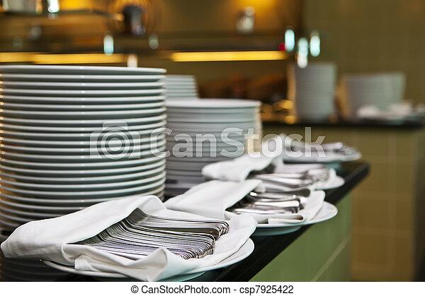 Servicio de catering - csp7925422