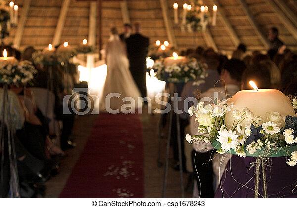 servicio, boda - csp1678243