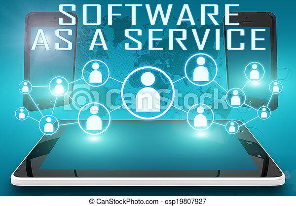 Software como servicio - csp19807927