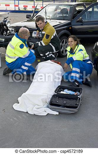 servicios, emergencia médica - csp4572189