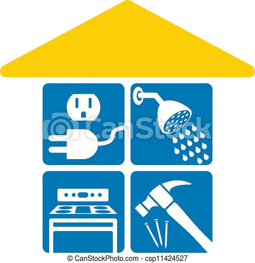 Servicios domésticos - csp11424527