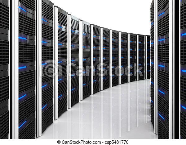 Servidor 3d de fondo - csp5481770