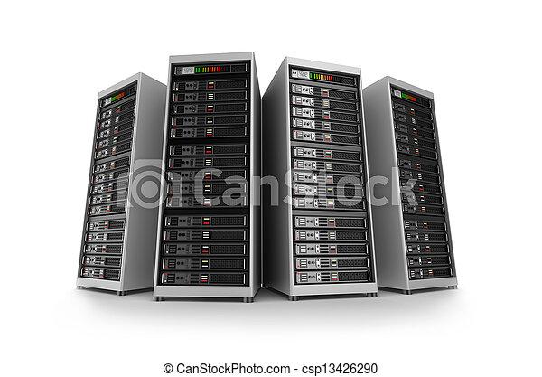Servers, aislados - csp13426290