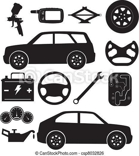 servizio automobile - csp8032826