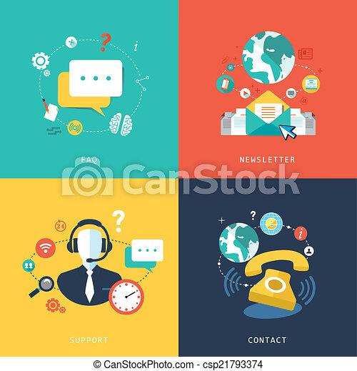 servizio, disegno, appartamento, cliente, concetto - csp21793374