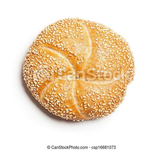 Sesame bread roll (Sesambroetchen) - csp16681073