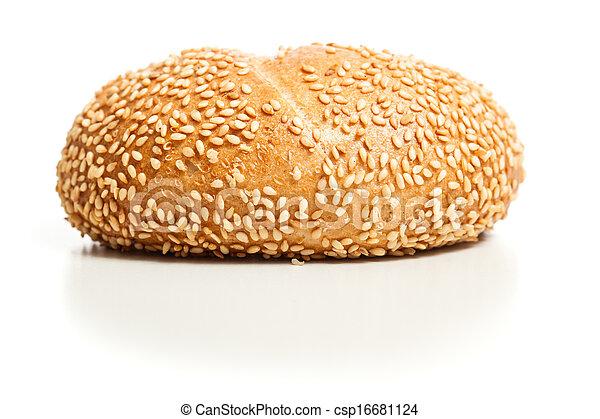 Sesame bread roll (Sesambroetchen) - csp16681124
