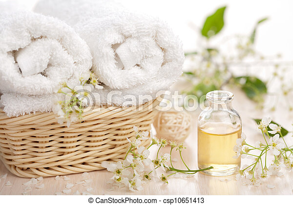 set, aromatherapy, spa - csp10651413