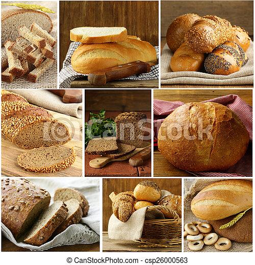 Set assortment of bread - csp26000563