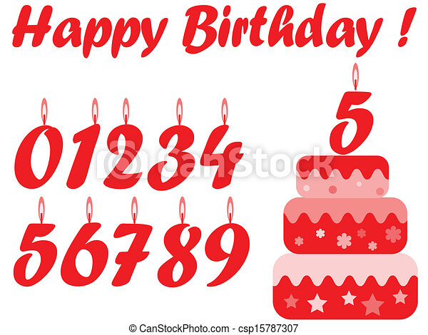 set., birthday - csp15787307