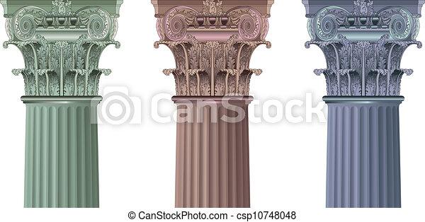 set classic columns - csp10748048