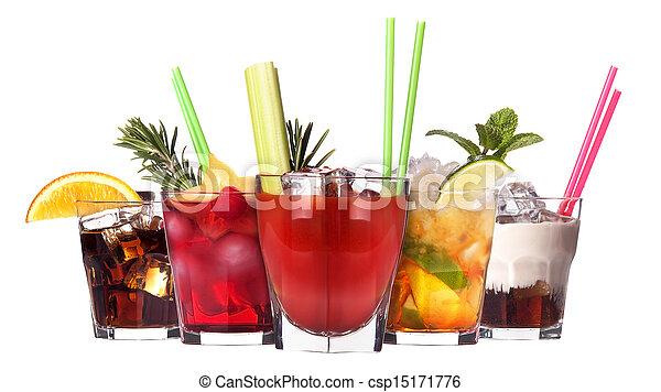 set, cocktail, alcoholhoudend - csp15171776