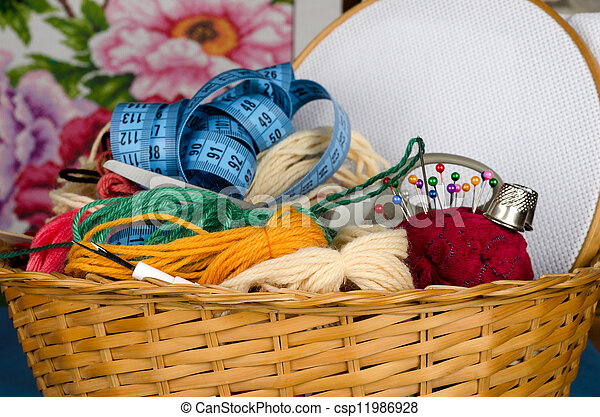 Set for cross stitching - csp11986928