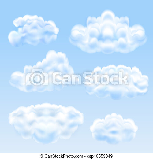 Set from clouds - csp10553849
