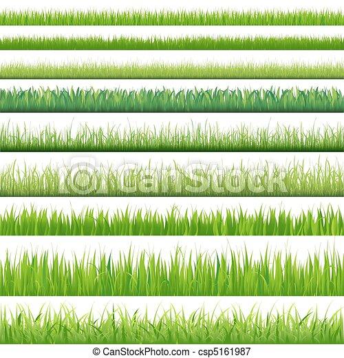set, groot, grassen - csp5161987
