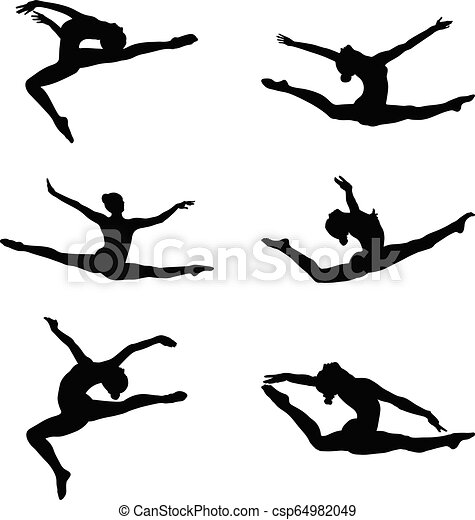 Gymnast clipart splits, Picture #2786621 gymnast clipart splits
