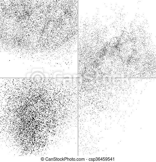 Set grunge vector texture. - csp36459541