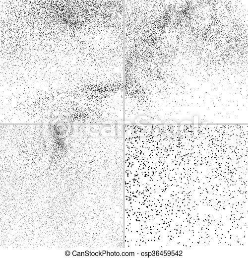 Set grunge vector texture. - csp36459542