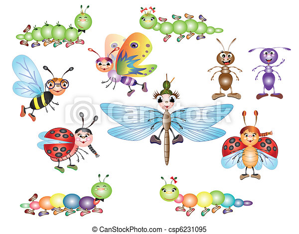 Set insects - csp6231095