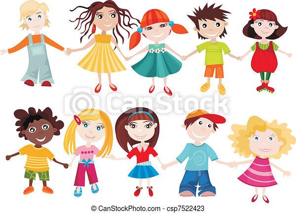set, kinderen - csp7522423