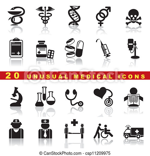 set medical icons - csp11209975