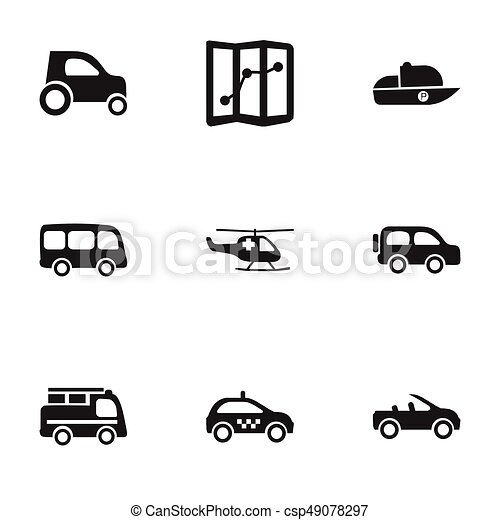 Set Of 9 Editable Shipment Icons Includes Symbols Such As Part Of