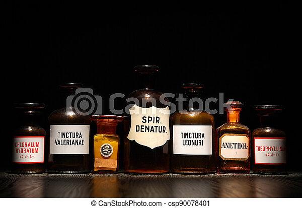 Set Of Ancient Medicines - csp90078401