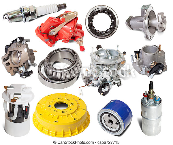 Set of auto parts - csp6727715