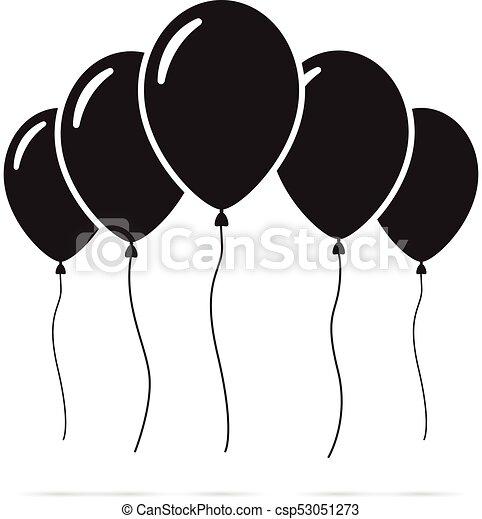Set of balloons - csp53051273