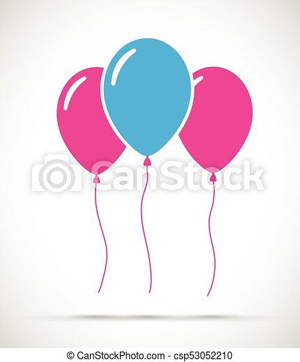 Set of balloons - csp53052210