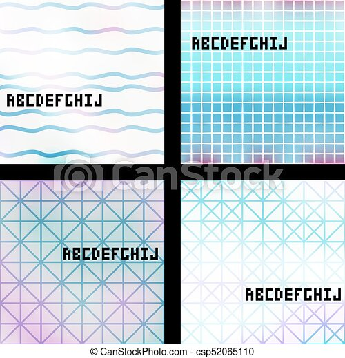 Set of banners - csp52065110