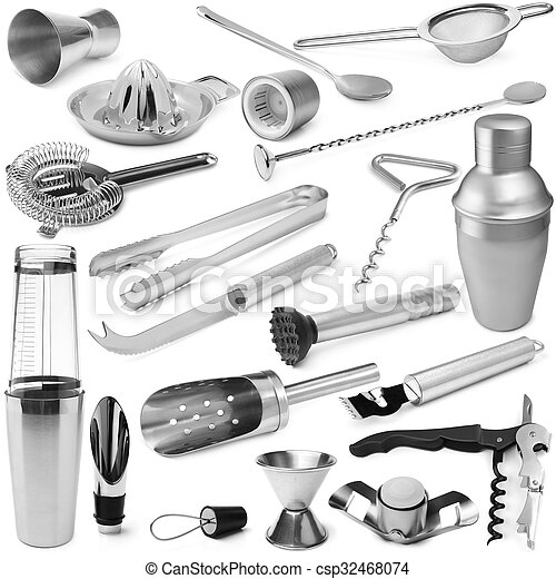 Set of barman equipment - csp32468074