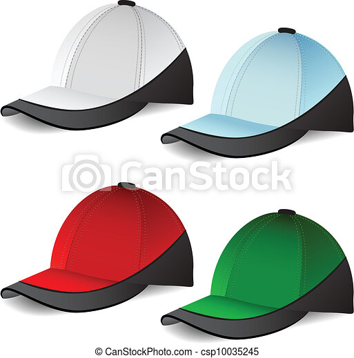 Set of Baseball caps - csp10035245