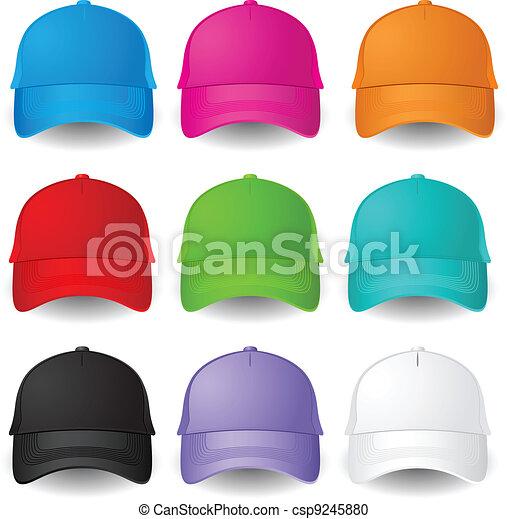 Set of Baseball caps - csp9245880