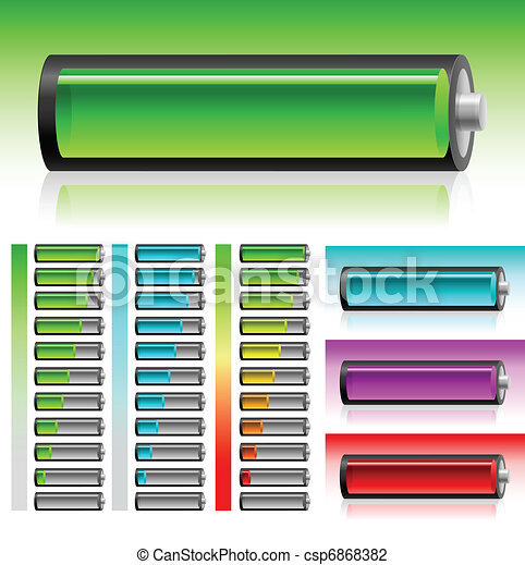Set of battery - csp6868382