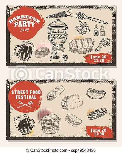 barbecue invitation templates